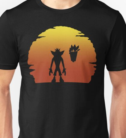 Crash on Sunset Unisex T-Shirt