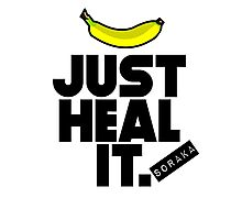 Just heal it Photographic Print