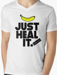 Just heal it Mens V-Neck T-Shirt