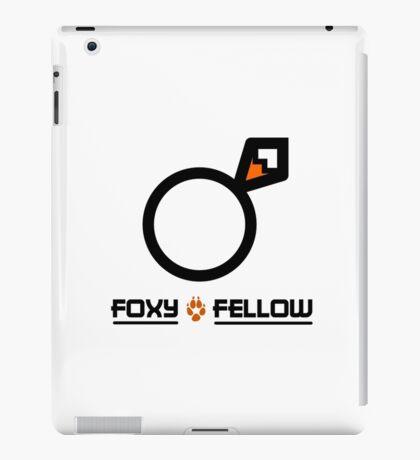 Foxy fellow iPad Case/Skin