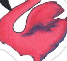 Flamingo Friend Sticker