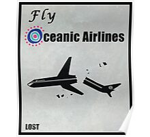 Fly Oceanic Airlines Print Poster