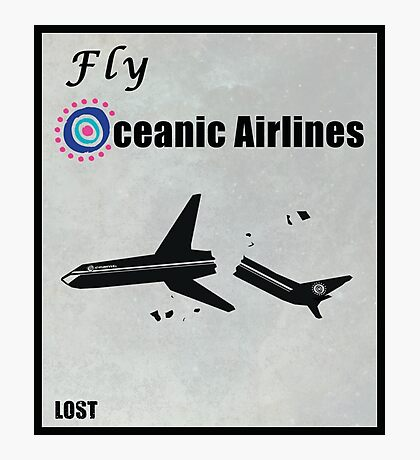 Fly Oceanic Airlines Print Photographic Print