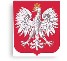 Poland Coat of Arms  Canvas Print