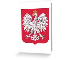 Poland Coat of Arms  Greeting Card