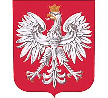 Poland Coat of Arms  Photographic Print