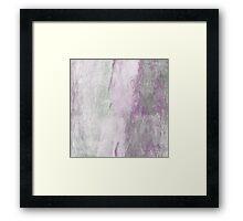 Purple Haze Abstract Framed Print