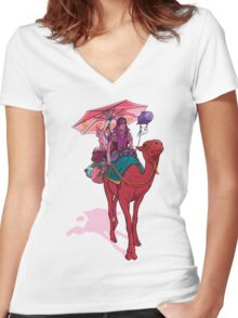 Nomad Women's Fitted V-Neck T-Shirt