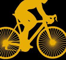 Iowa Bike IA Iowa Hawkeye Colors Sticker