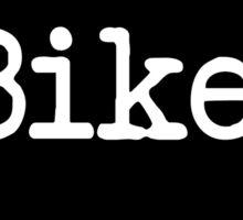 Iowa Bike IA  Sticker
