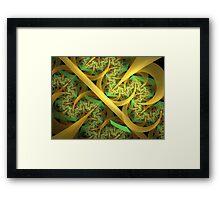 Tears of Autumn Gold Framed Print