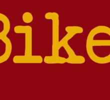 Iowa Bike IA Iowa State Cyclone Colors Sticker