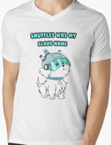 Rick and Morty - Snuffles T-shirt Mens V-Neck T-Shirt