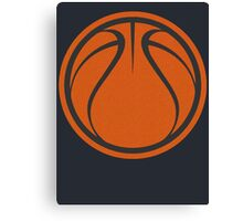Graphic Basketball Canvas Print
