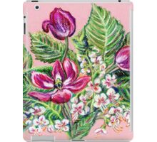 Tulips and aesculus iPad Case/Skin