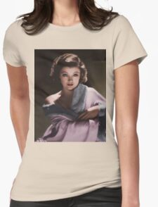 Myrna Loy 1930s Womens Fitted T-Shirt