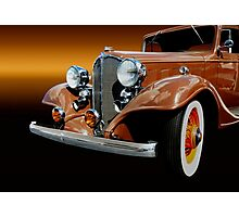 1933 Buick Coupe Photographic Print