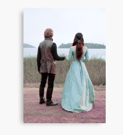 Mary & Francis - Reign  Canvas Print