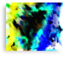 Clouded Judgement Abstract Canvas Print
