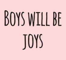 Boys Will Be Joys! One Piece - Long Sleeve