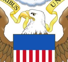 USA Coat of Arms  Sticker