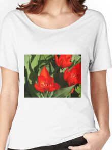 Sunny tulips Women's Relaxed Fit T-Shirt