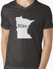 Minnesota Bike MN  Mens V-Neck T-Shirt