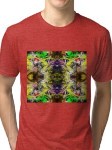 Symmetry Of Colour Abstract Tri-blend T-Shirt