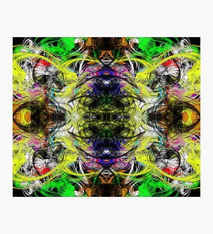 Symmetry Of Colour Abstract Photographic Print