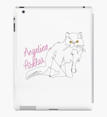 Angelica Pickles (@misspicklescat) iPad Case/Skin