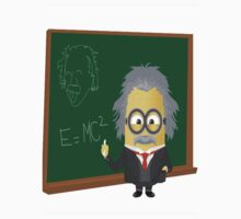 Minion|Minions|Albert Einstein Kids Tee