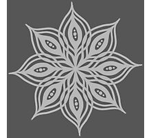 floral ink design Photographic Print
