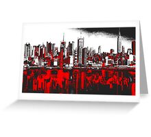 New York (Trio Collection) Greeting Card