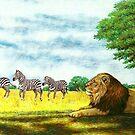Zebra Crossing by HandsonHart
