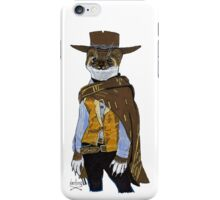 """Weasel """"Blondie"""" from The Good the Bad and the Ugly iPhone Case/Skin"""