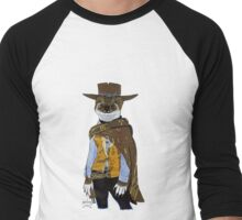 """Weasel """"Blondie"""" from The Good the Bad and the Ugly Men's Baseball ¾ T-Shirt"""