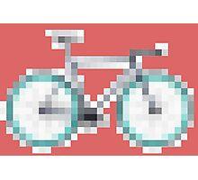 The Pixel + The Bike Photographic Print