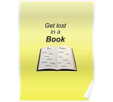 Get Lost in a Book Poster