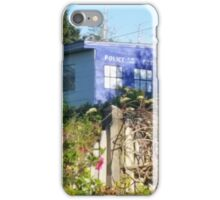 Dr. Who on Monhegan Island? iPhone Case/Skin