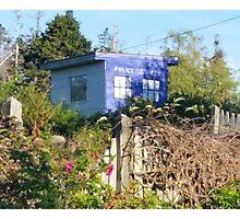 Dr. Who on Monhegan Island? Photographic Print