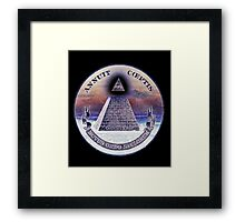 Techno-colored Conspiracy  Framed Print