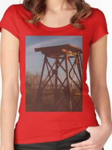Ruined Reservoir  Women's Fitted Scoop T-Shirt