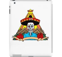 Day of the Dead T Shirt Colour iPad Case/Skin