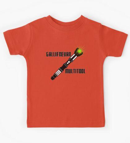 Dr Who - Gallifreyan MultiTool Kids Tee