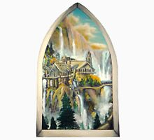 Window to Rivendell Unisex T-Shirt