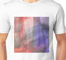 Fire And Ice Abstract Texture 2 Unisex T-Shirt