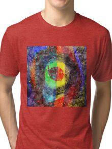 Chaos Textured Abstract 3 Tri-blend T-Shirt