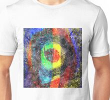 Chaos Textured Abstract 3 Unisex T-Shirt