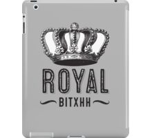 Royal Bitxh Vintage Crown  iPad Case/Skin