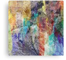 Form in Chaos Abstract Canvas Print